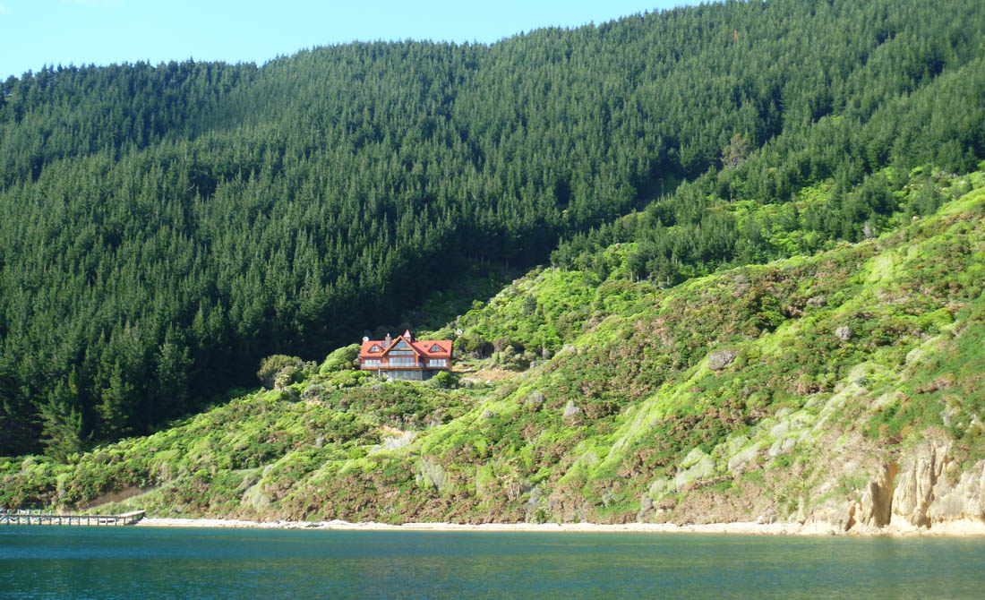 Accommodation Marlborough Sounds